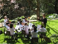 Lindfield East Public School string ensemble